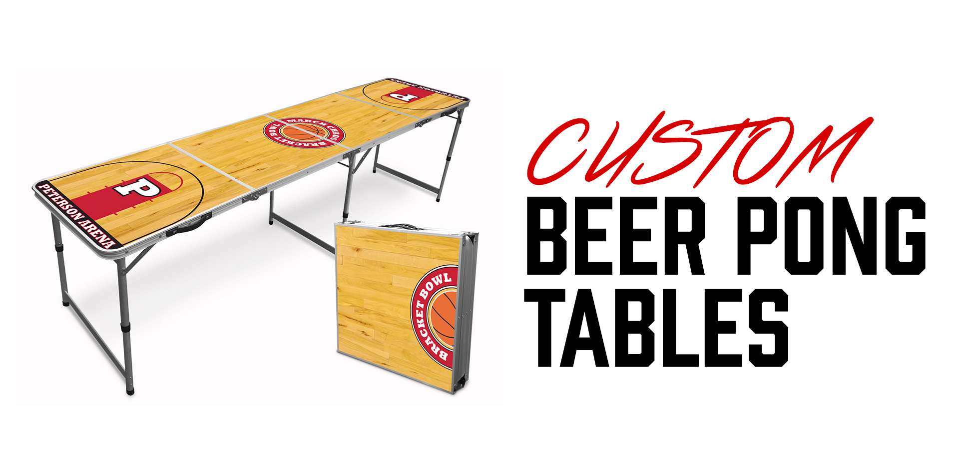 Custom Beer Pong Tables