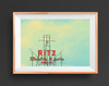 dallas art, dallas gift, ritz starlight lounge