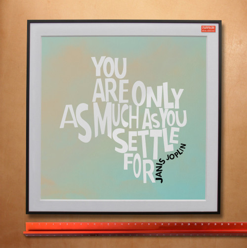 Janis Joplin | Texas Quote Print | Sort of Cool Art