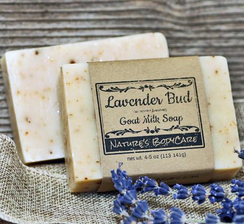 Lavender Bud Goat Milk Soap