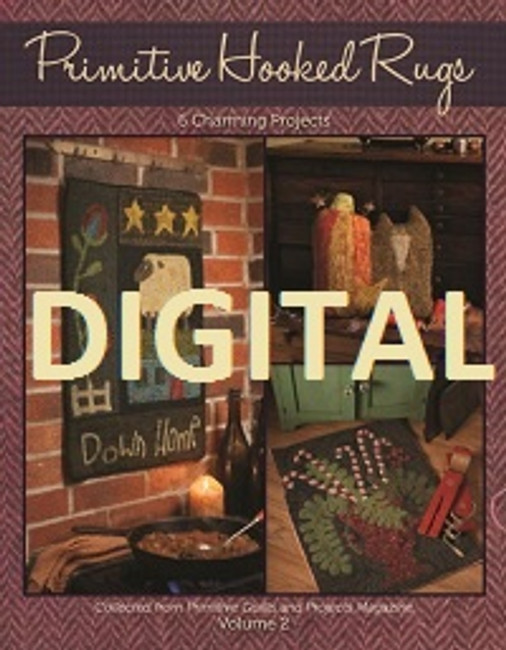 Primitive Hooked Rugs Volume 2 - Digital Download