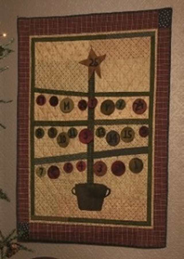 Advent Tree by Lynda Hall