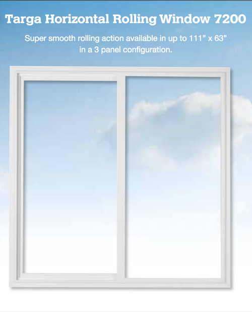 A casement window swings open like a door. Hinged on the side, casement windows provide excellent ventilation and unlike a single hung, it has no center rail to obstruct the view. When combined with impact hurricane resistant technology, this can be an excellent solution for your window needs.