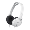 Sony MDR-V150 DJ Monitoring headphones with reversible earcups, White