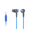 Sony MDR-XB50AP EXTRA BASS In-Ear Headphones, Blue