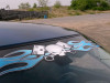 Flamed Pistonhead windshield decal - Pick your color!
