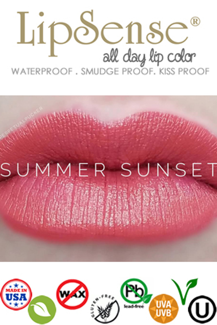SUMMER SUNSET LIPSENSE in stock