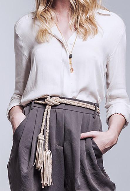 ADA Fringe Saga Belt [Grey]