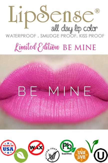 NEW LipSense BE MINE LipSense 2018 Limited Edition Color