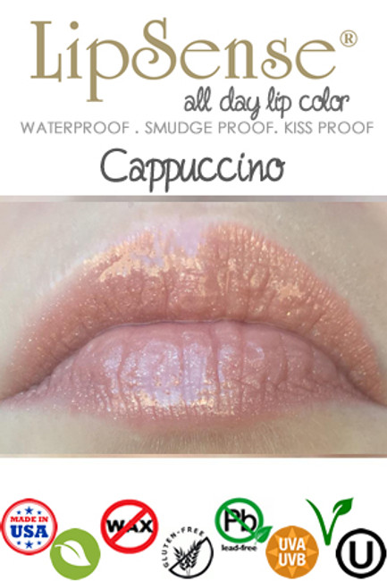 Cappuccino LipSense IN Stock