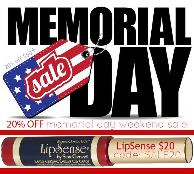 Memorial Day LipSense SALE 20% off $50+ (LipSense $20!)