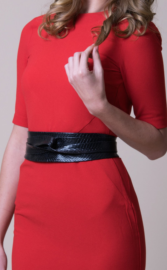 Black Python Ada Belt