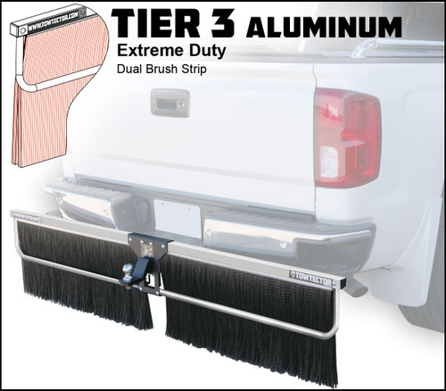Tier 3 Aluminum (Extreme Duty Dual Brush Strip)