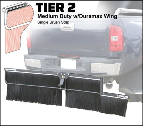 Tier 2 (Medium Duty Single Brush Strip With Duramax Wing)