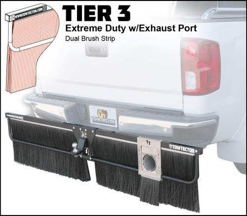 Clearance Item - 27816 with Exhaust Port Adjustable Towtector