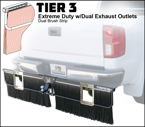 Clearance Item - 27822 with Dual Exhaust Adjustable Towtector