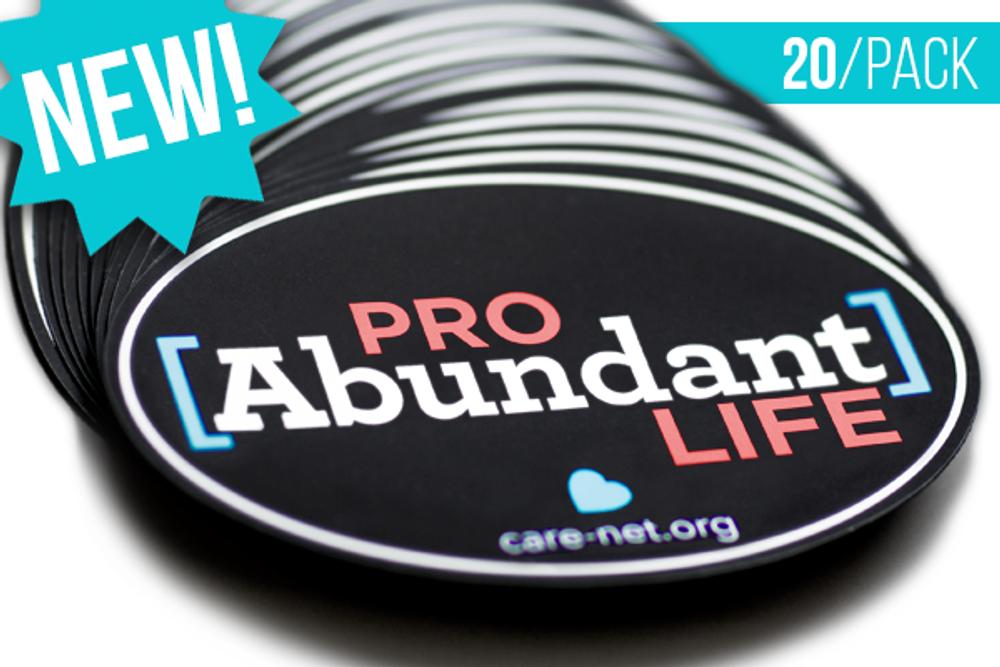 Pro Abundant Life Magnet (Pack of 20)