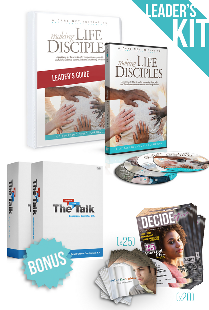 Making Life Disciples and The Whole Sex talk Leaders Kit