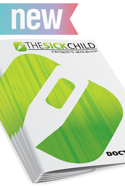 Doctor Dad: Sick child Father's handbook (pack of 5)
