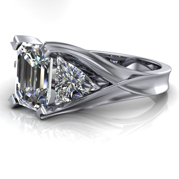 diamond by each carat collections products band eternity desires at emerald cut mikolay in platinum half womens
