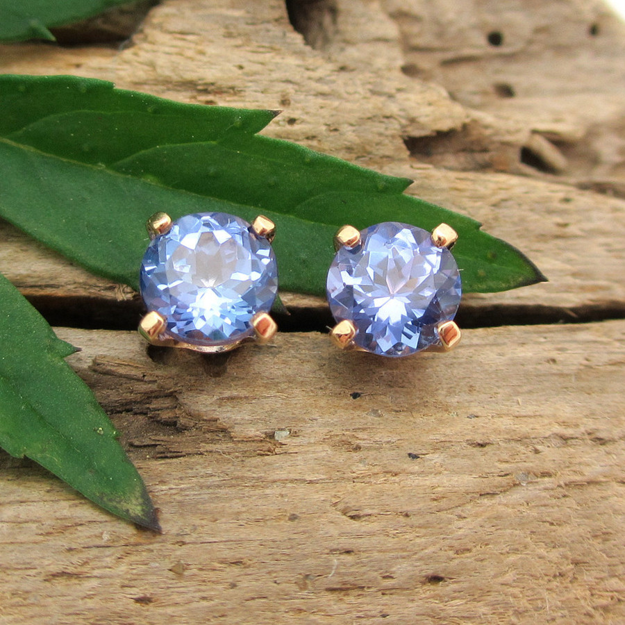 Tanzanite Stud Earrings, , Limited Edition