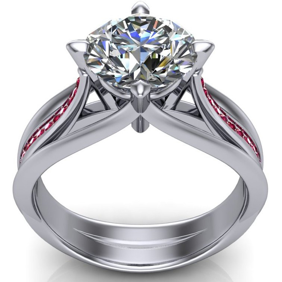 build engagement vaughan platinum for own setmain nile diamond your ov bella blue grandeur ct tw oval in ring rings halo