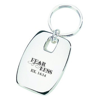 Fearless Keychain