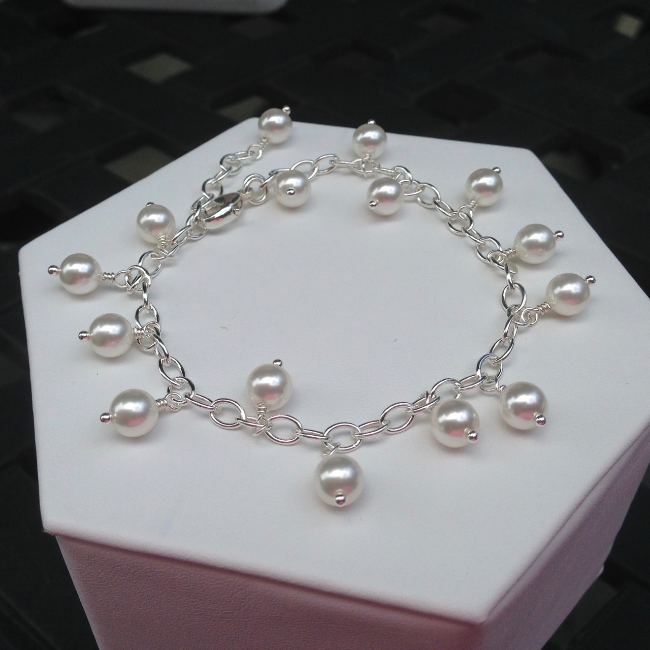bracelet aaa in pearl d japanese m akoya quality white cultured