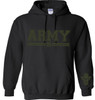 .PULLOVER HOODIE ARMY