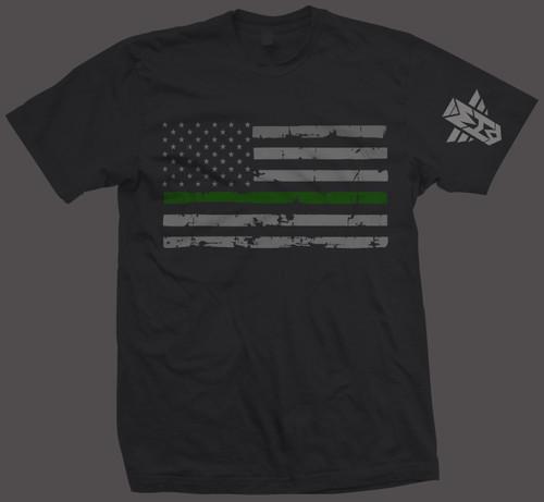 FLAG GREEN LINE