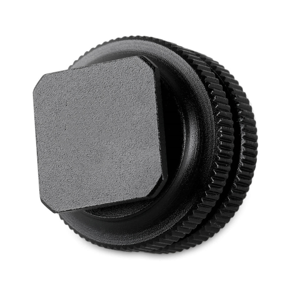 "Cold Shoe Adapter with 3/8"" to 1/4"" thread 814"