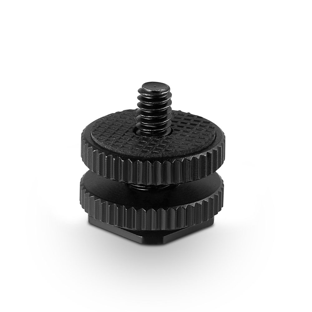 SmallRig Cold Shoe with 14 and 38 Threads 814