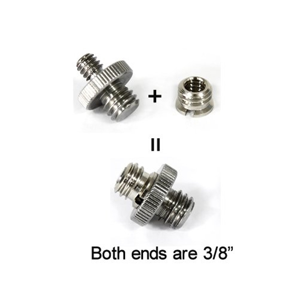 """New Thread adapter w/ 1/4"""" to 3/8"""" thread 10pcs Pack 856"""