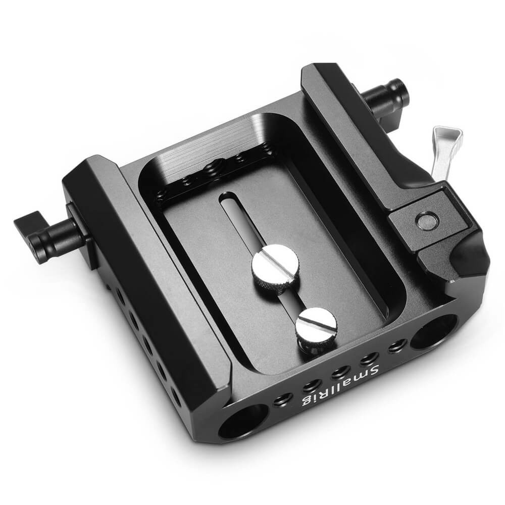 SmallRig Arri Standard Explorer Bridgeplate with 15mm Rod Clamp 1642