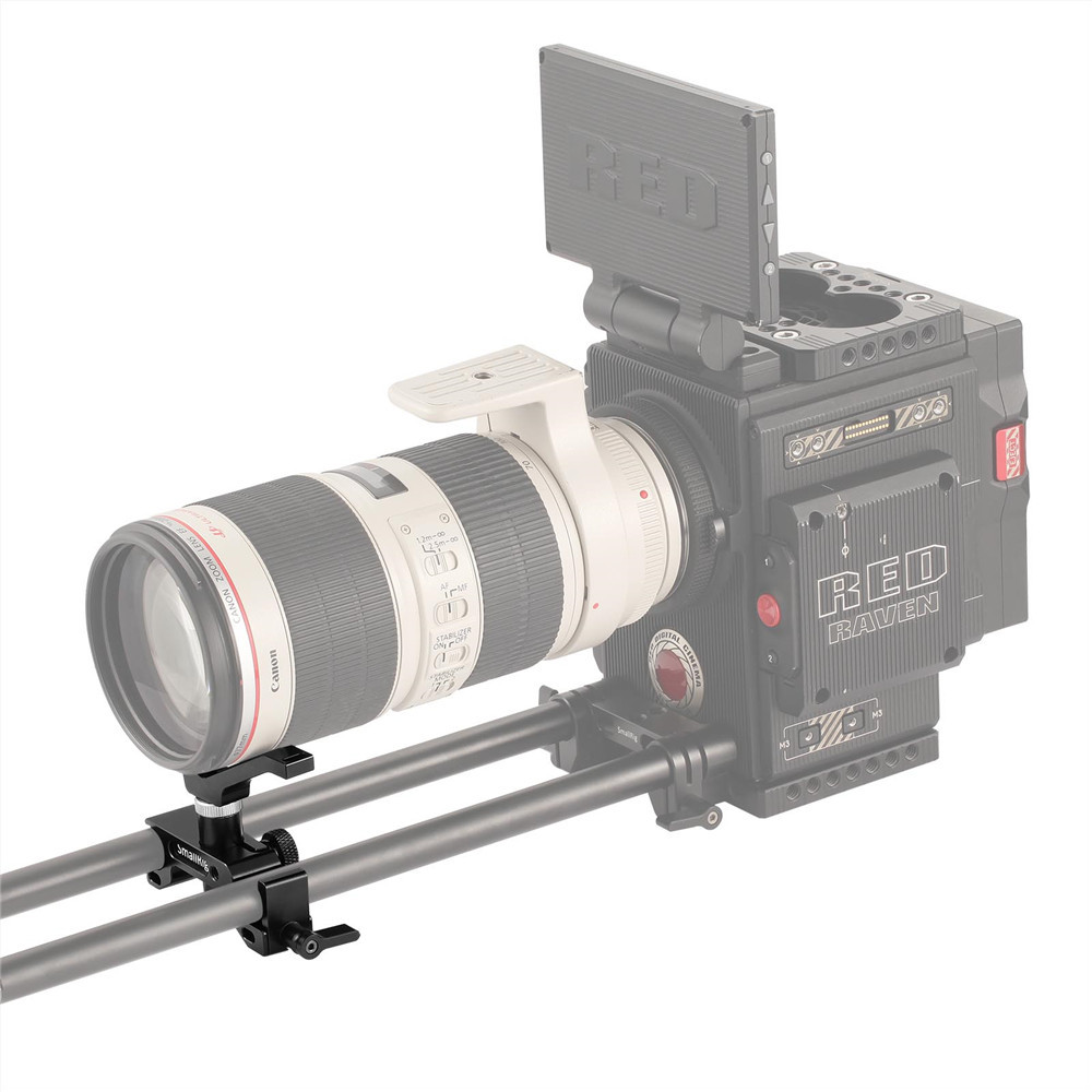 SmallRig Lens Support with 15mm Dual Rod Clamp 1676