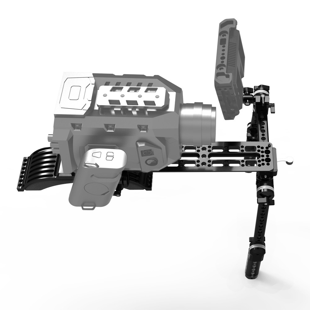 SMALLRIG Crossbar with ARRI Style Rosettes 1808