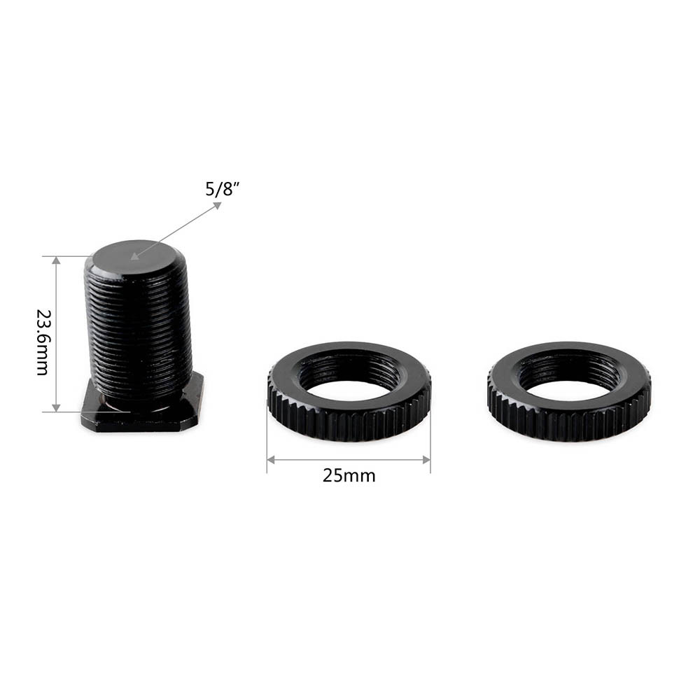 """SmallRig 5/8"""" Male to 3/8"""" Female Cold Shoe Adapter 1858"""