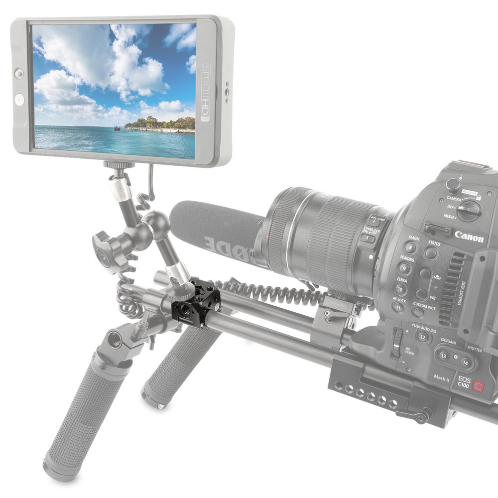SmallRig Quick Release Rod Clamp with ARRI Accessory Mount 1976