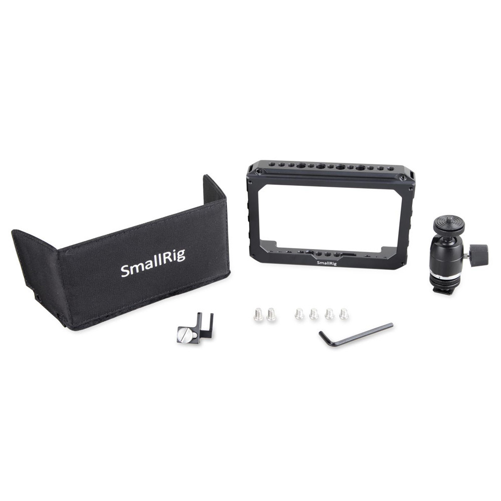 SMALLRIG 5''Monitor Cage Accessory Kit for Blackmagic Video Assist 1981