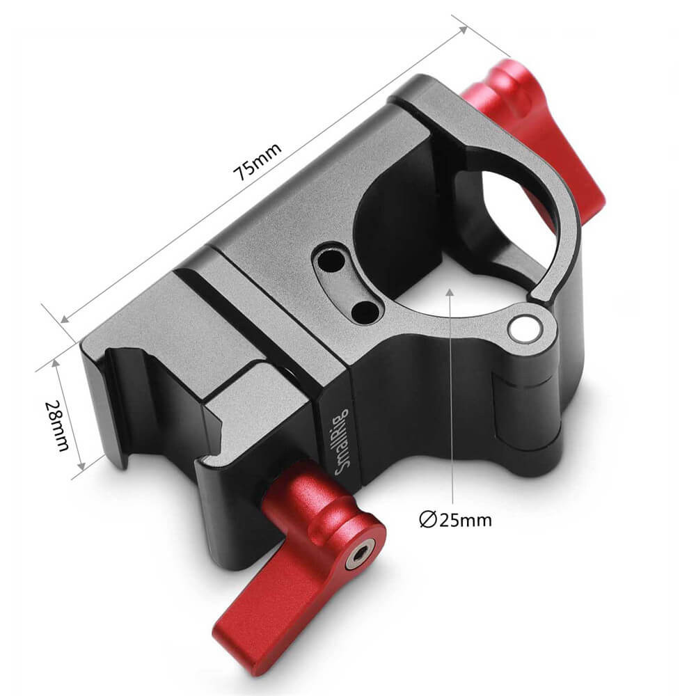 SmallRig 25mm Rod Clamp to NATO Clamp 2043