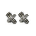 "Double Head Stud with 1/4"" to 3/8"" thread 855"