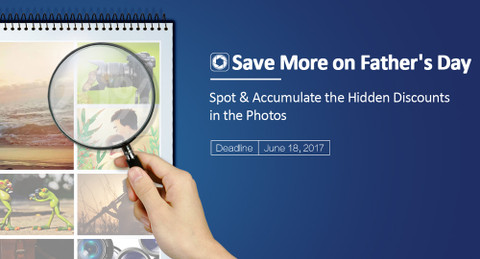 Find out & Accumulate Discounts in the Photos to Save More