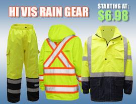 Hi Vis Rain Gear