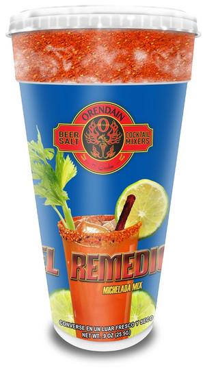 """EL REMEDIO"" Michelada Mix with Tamarind Picante Stick (foam cup) 24 pk"