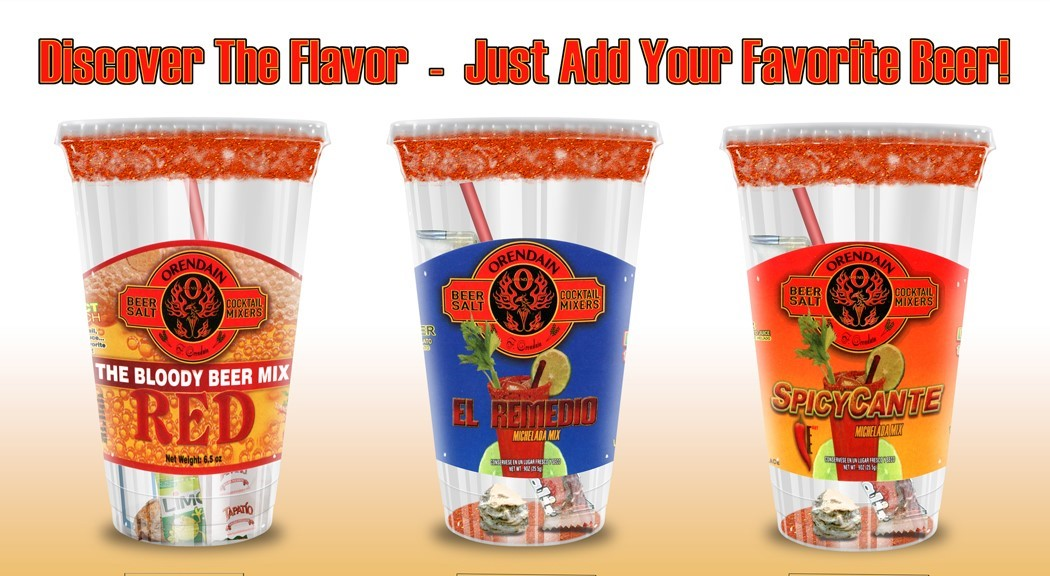 ORENDAIN BRANDS- MICHELADA CUPS