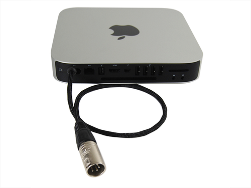 Mac Mini with Hardwired DC Power Cable