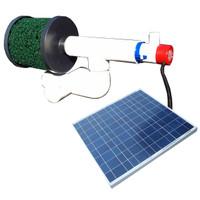 Bottom Feeder 10000 Gallon Pond 60-watt Solar Pump and Filter System