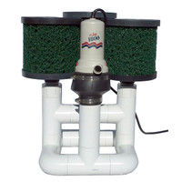 Bottom Feeder 15000 Gallon Pond Open Power (Solar Wind or Other) 120-watt Pump and Filter System