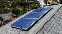 SunRay SolFlo1 - 1 HP DC - 3 Solar Panels 750w Filter Pool Pump Systems 61GPM 32FT Head 90VDC Brush Type Motor Complete