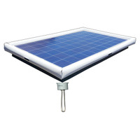 Pond De-Icer Floating Solar Electric Water Heater 220-watt Solar Powered Extension